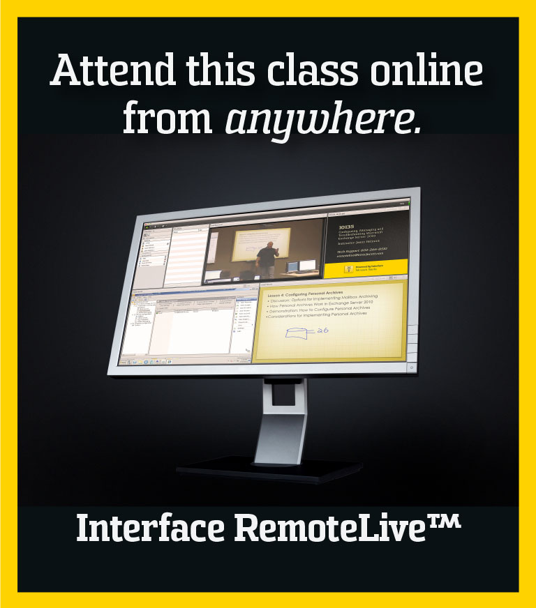 RemoteLive Training at Interface