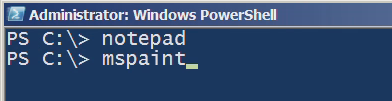 PowerShell MS Paint