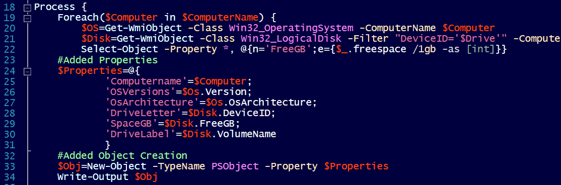 How to use the PowerShell v3 object creation accelerator