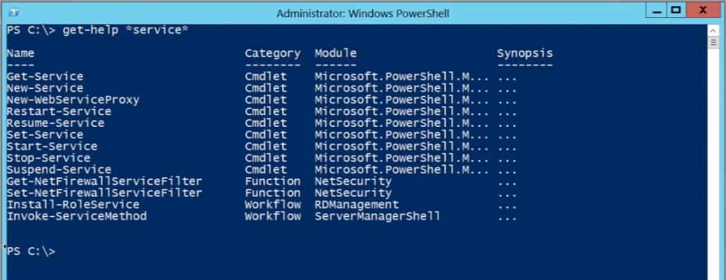 PowerShell v3 Windows Server 2012 get-help