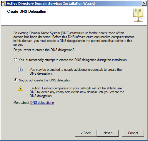 Create DNS Active Directory Domain Services AD DS Windows Server