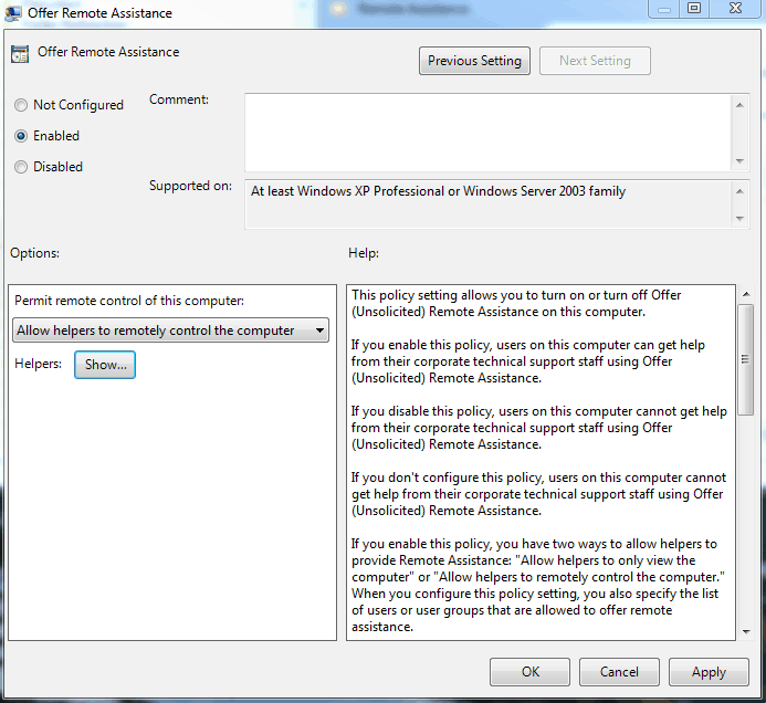 How to Enable Windows 7 Remote Desktop and Remote Assistance