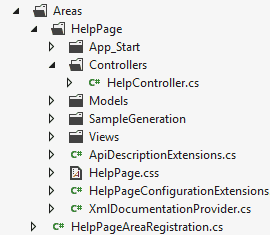 Areas HelpPage - How to add Help Pages to ASP.NET Web API Services by Dan Wahlin