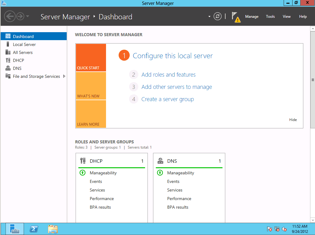 Install Active Directory Domain Services AD DS in Server 2012: Part