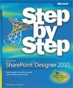book Microsoft SharePoint Designer 2010: Step by Step