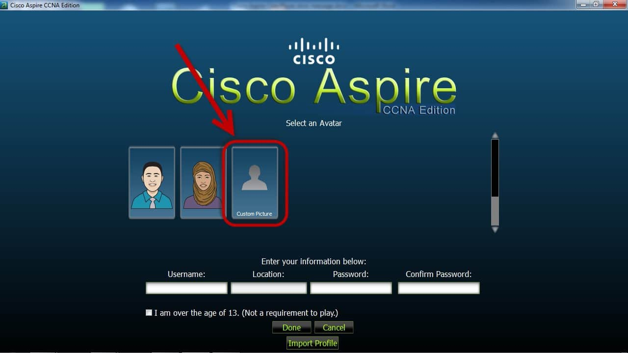 Custom Picture Cisco Aspire a Fun CCNA Certification Game