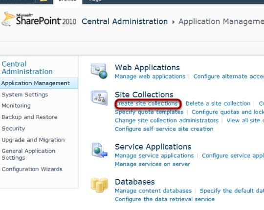 configuring content deployment for a team site in sharepoint 2010
