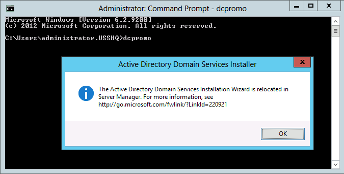 How To Demote A Domain Controller In Windows Server 2012