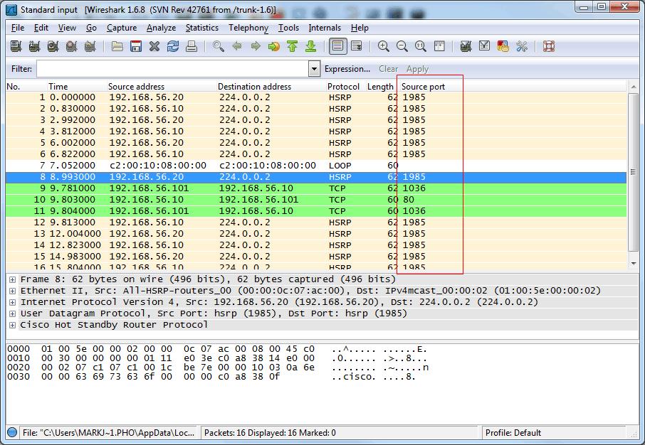 How Cisco Network Gurus Can Fine Tune Wireshark Output