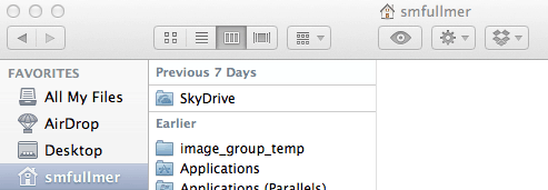 SkyDrive on Mac SkyDrive for Windows 8