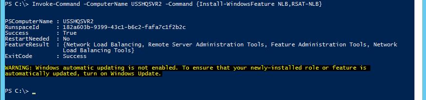 Windows Server Network Load Balancing (NLB) Cluster using