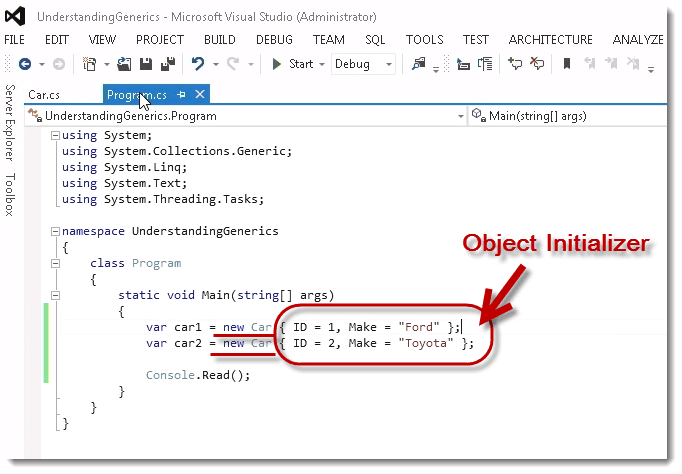 Fundamentals of C# Generics by Dan Wahlin - Interface Technical Training