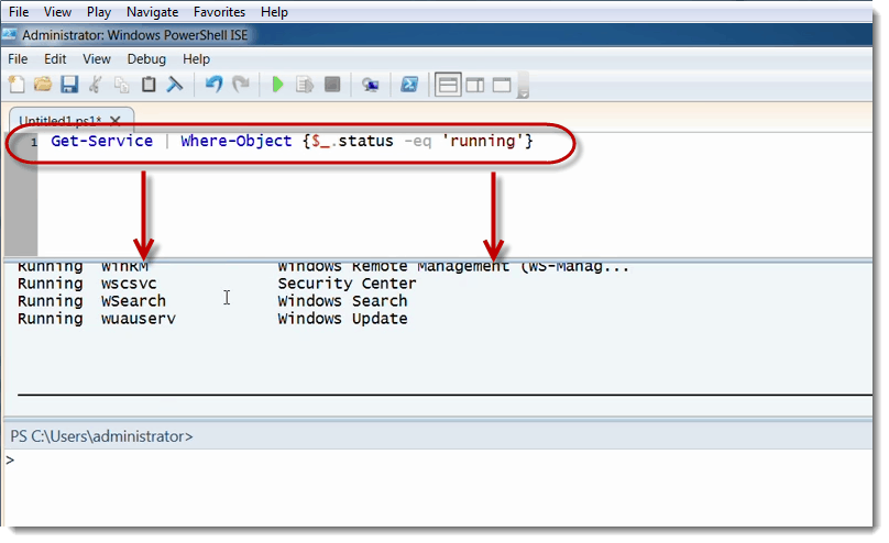 004-ise-get-service-Exchange-Server-Scripting-using-PowerShell