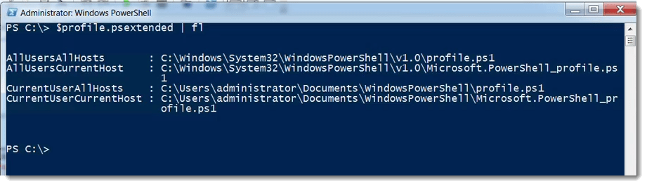007-set-profile-Exchange-Server-Scripting-using-PowerShell