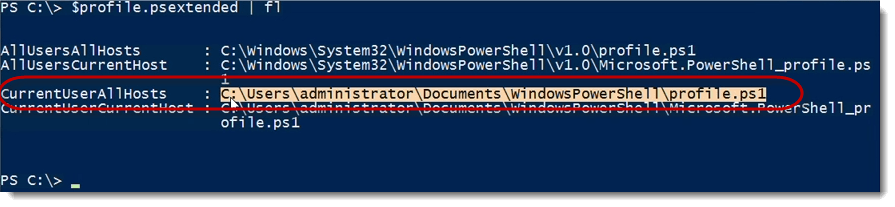 009-currentuserallhosts-Exchange-Server-Scripting-using-PowerShell