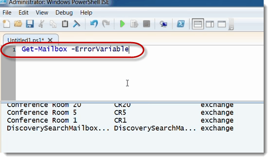 017-ISE-test-get-mailbox-Exchange-Server-Scripting-using-PowerShell