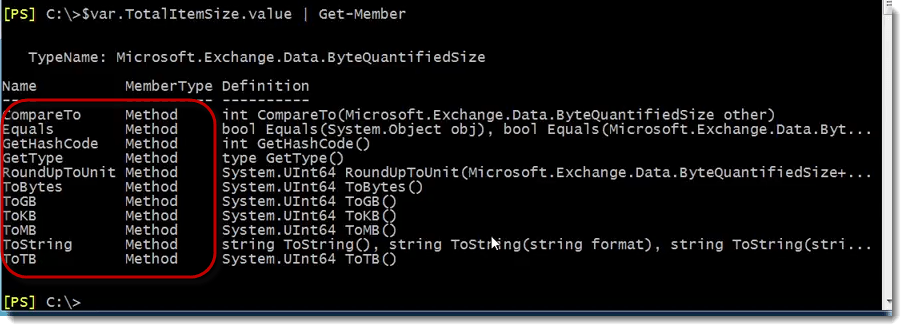 023-var-get-member-Exchange-Server-Scripting-using-PowerShell