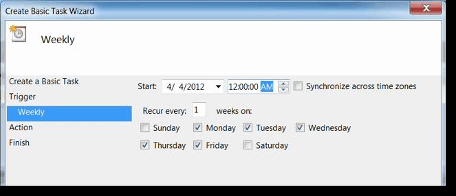 How to schedule Exchange Server Scripts using PowerShell