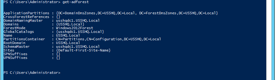 How to rollback AD DS Forest Function levels using PowerShell