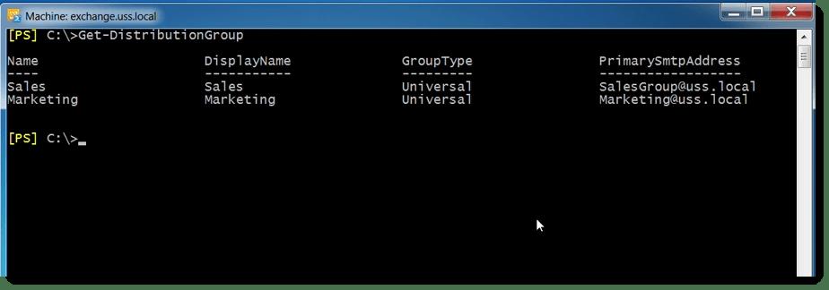 Using PowerShell to report on Distribution Group Membership