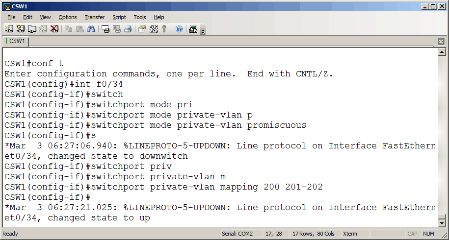 Cisco Switch endpoints of VLAN