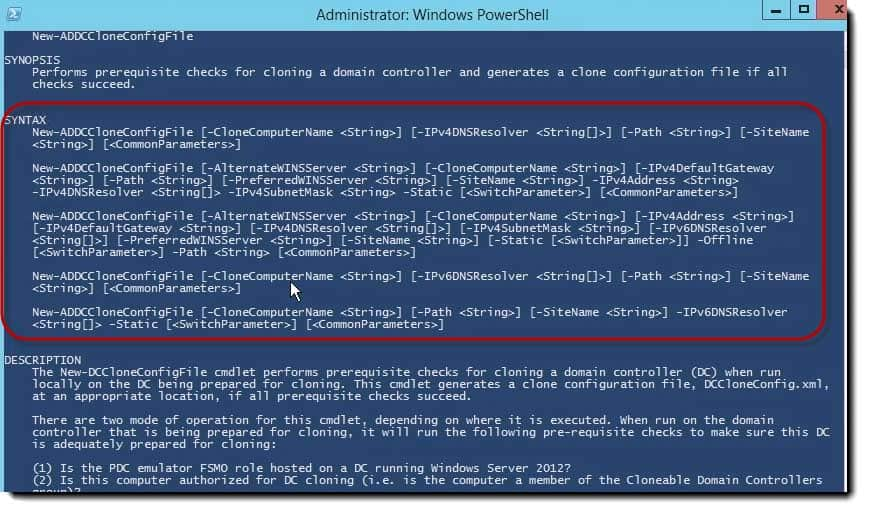 011-clone-config-file-descriptions-powershell-clone-a-Server-2012-Domain Controller