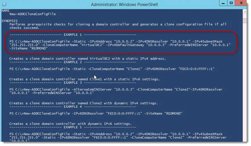 014-clone-config-example-powershell-clone-a-Server-2012-Domain Controller