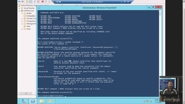 How to Reset a Windows Client Secure Channel Password