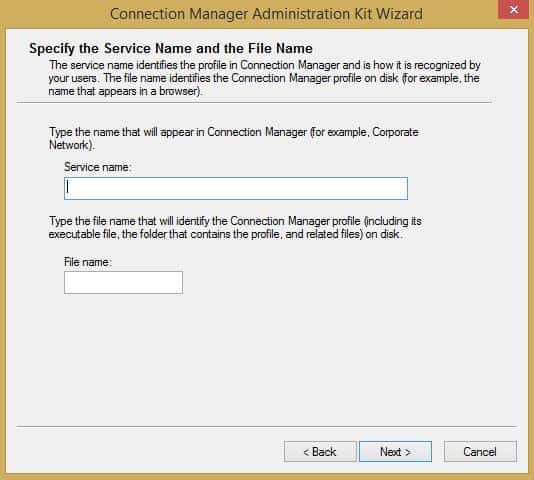 Connection Manager Administration Kit (CMAK) an Overview and General