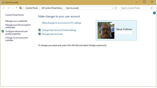 Windows 10 – Exploring Security. Identity Protection