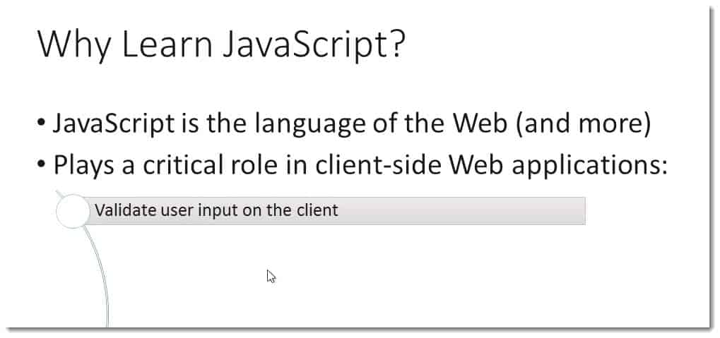 Validate User Input on client-side learning Javascript for C#