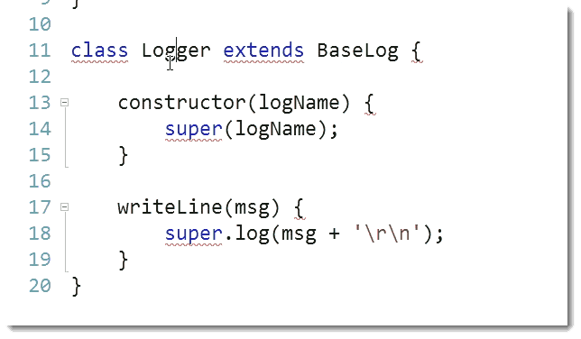 Logger Functions ECMAScript 6 (ES6) – The Future Look of JavaScript for C# Developers
