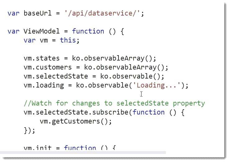 JavaScript API Dataservice Learning JavaScript for C# Developers Webinar