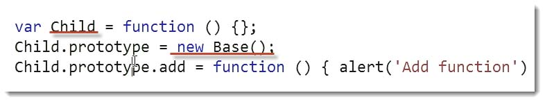 New Base Code Example - Learn JavaScript for C# Developers