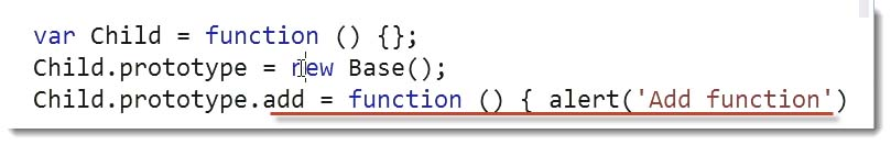 Function Alert Add code example - Learn JavaScript for C# Developers