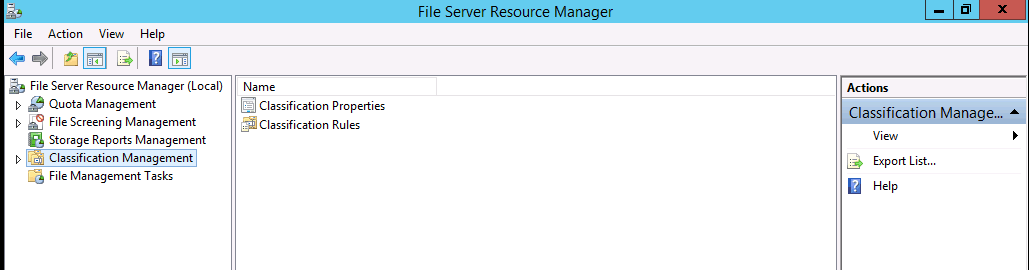 Using File Server Resource Manager (FSRM) to Move Files Containing Sensitive Data