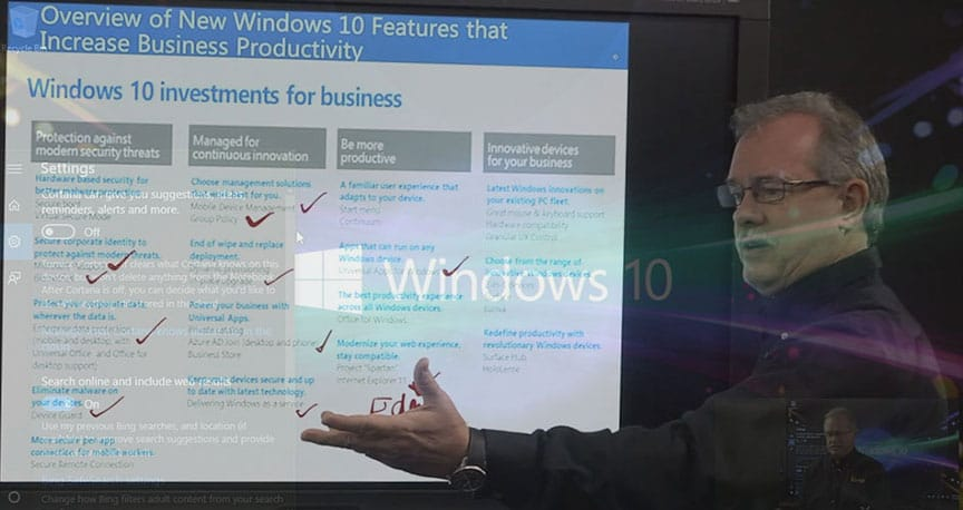 Interface Technical Training Windows 10 Features and Navigation Webinar