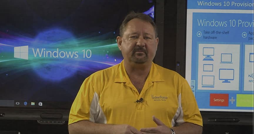 Interface Technical Training Windows 10 Managing, Deploying and Configuring Webinar