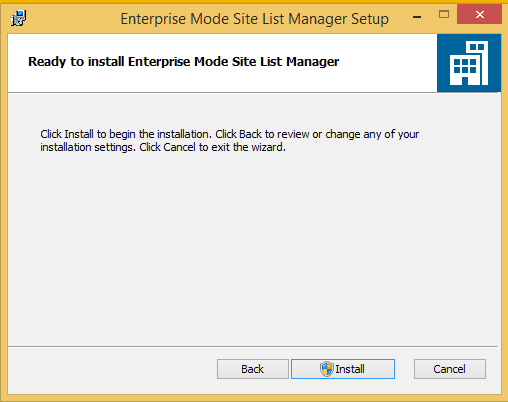 004-Install-Enterprise-Mode-Site-List-Manager