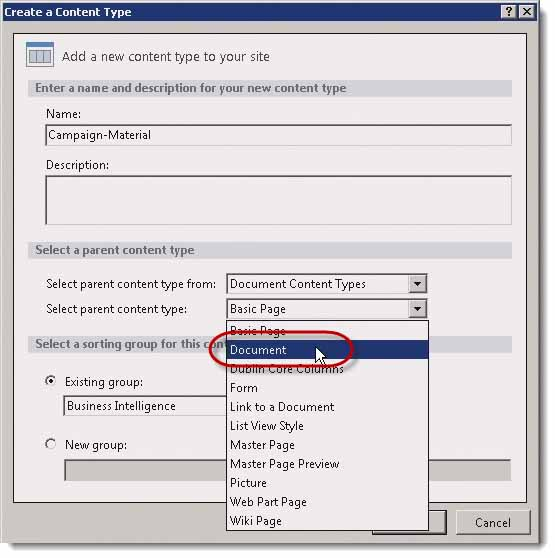 003-create-a-Site-Content-Type-in-SharePoint-2013