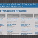 Windows 10 - Business Features