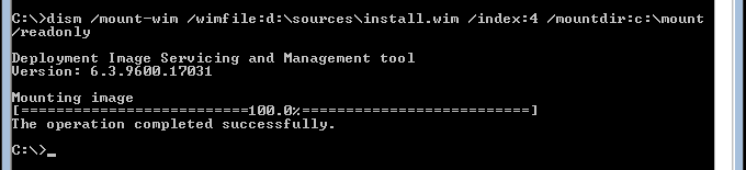 004-verify-mount-Using-PowerShell-to-Full-Graphica-Shell-Windows-Server-2012-R2-Datacenter