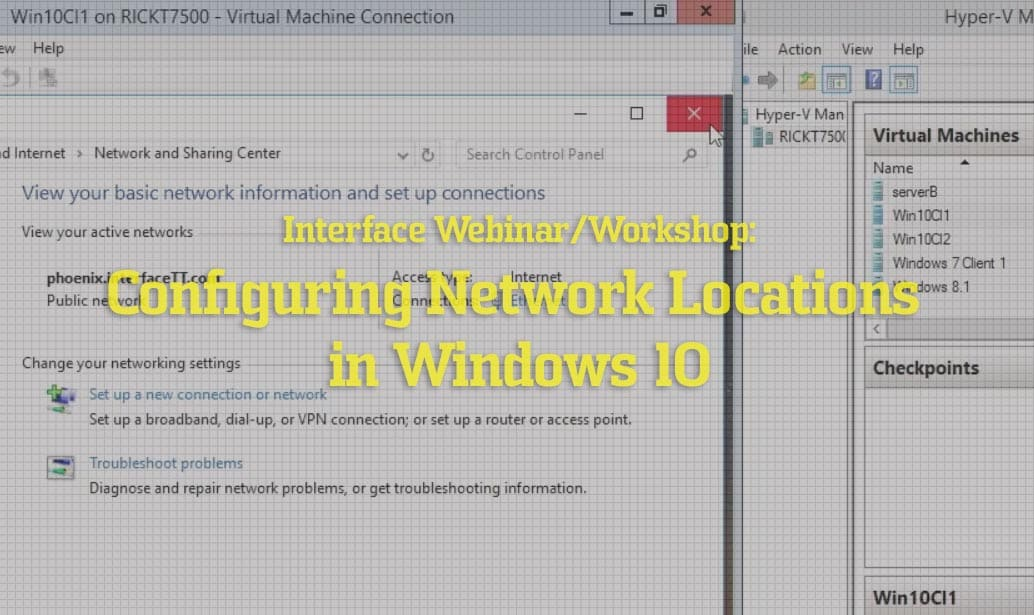 How to Configure a Network Location in Windows 10 video image of Rick Trader