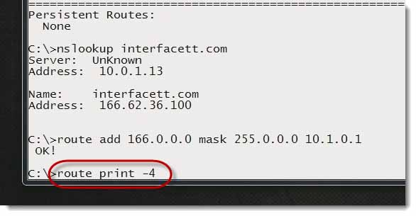 How to Change Routing Tables with a Command Prompt - CompTIA