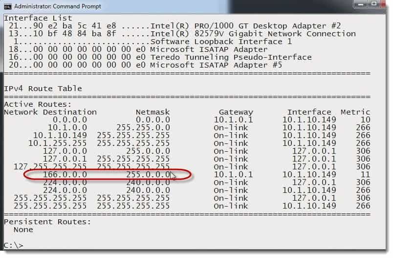 How to change routing tables with a command prompt comptia network 013 change routing tables with a command prompt greentooth Gallery