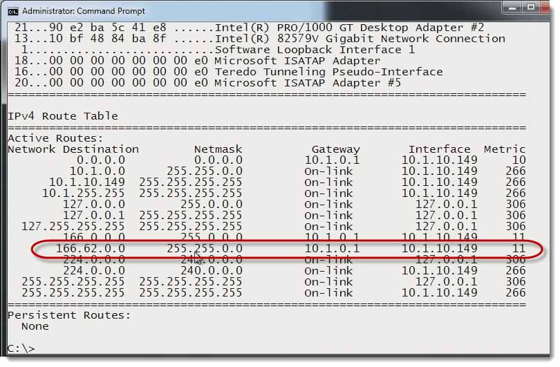 How to change routing tables with a command prompt comptia network 016 change routing tables with a command prompt greentooth Image collections