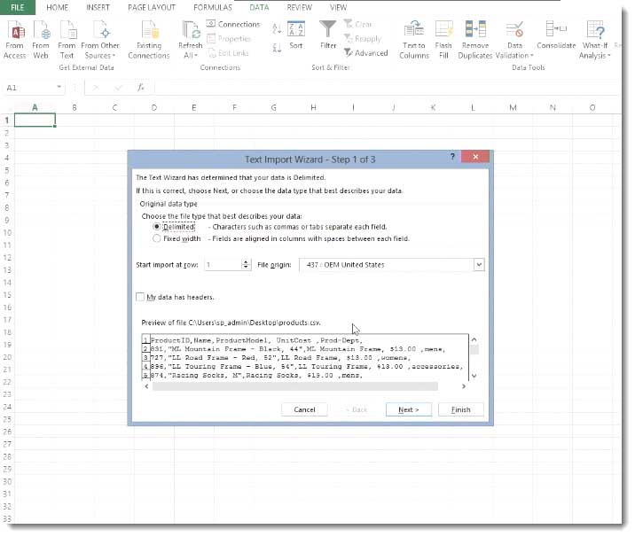 007-how-to-import-a-csv-text-file-into-sharepoint-2013-preparing-the-excel-file