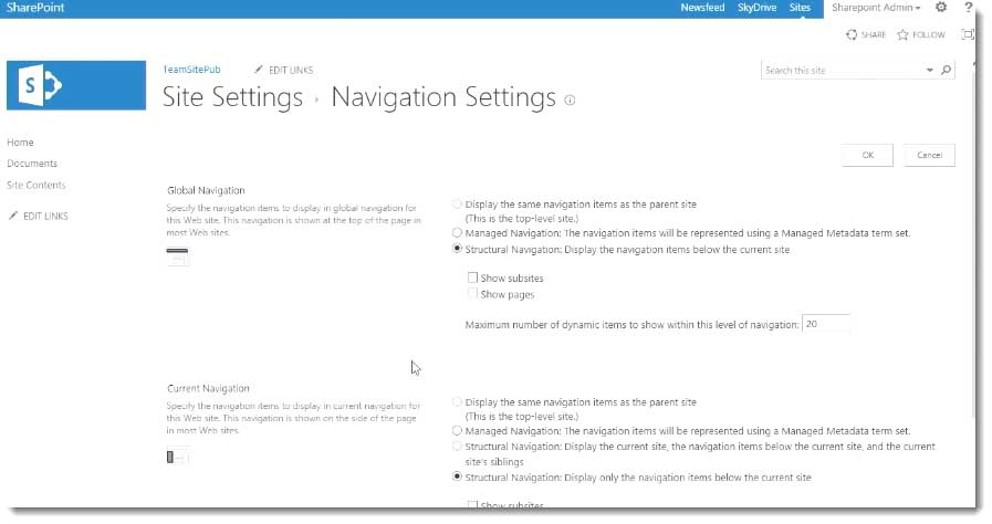 Using navigation controls in a publishing site in sharepoint video for instructor led sharepoint training see our sharepoint course schedule maxwellsz