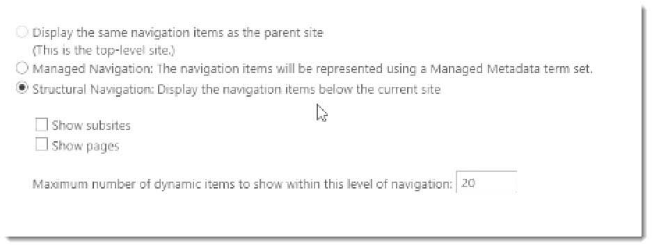 How to Configure Navigation in SharePoint Publishing Sites
