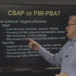 The Difference between PMI-PBA Business Analysis Certification and IIBA CBAP Certification